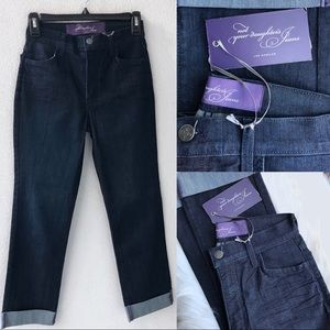 Not Your Daughter's Jeans • PETITE dark wash jeans